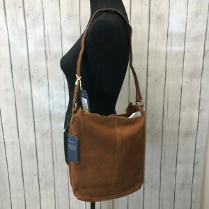 Universal Thread Genuine Suede Large Tote Handbag, Brown, New with Tags