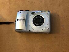 Canon PowerShot A1200 12.1MP Digital Camera - Silver, Cam