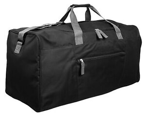 Mens Extra Large Travel Holdall Bag SPORTS LEISURE CASUAL GYM WORK BIG