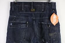 Mens G STAR Jeans STRAIGHT Comfort ZIP Fly RAFF ELWOOD W29 L26 DISTRESSED P8