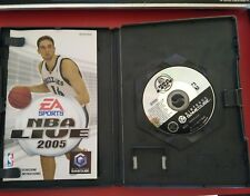 gioco nba live 2005 nintendo gamecube ea sports pallacanestro basket videogame
