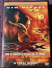Xxx (Dvd, 2002, Full Screen Special Edition)Samuel Jackson, Vin Diesel,