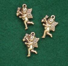Charms  Gold Cherub No 8