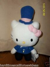 Hello Kitty Plush With Top Hat Sanrio 9""