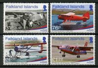 Falkland Islands Aviation Stamps 2018 MNH FIGAS Government Air Service 70 4v Set