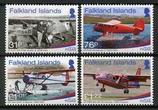 Falkland Islands 2018 MNH FIGAS Government Air Service 70 4v Set Aviation Stamps