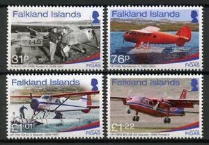 Falkland Islands Aviation Stamps 2018 MNH FIGAS Government Air Service 70 4v Set