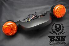 LED Rücklicht Bremslicht Blinker Kennzeichen schwarz Harley Davidson Touring