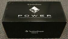 "ROCKFORD FOSGATE T2652-S POWER SERIES 6.5"" 2-WAY ALUMINUM COMPONENT SPEAKERS"