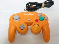 Nintendo GameCube Controller Orange import from Japan Used without BOX