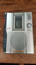 Sony TCM-200DV Handheld Portable Cassette Recorder  TESTED