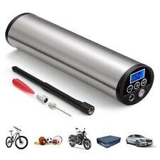 Portable Car Bicycle Bike Pump Electric Auto Air Compressor EU PLUG LCD Display