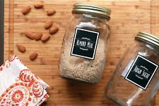 "Gourmet Pantry Jar Labels Set of 99 - 2x2.4"" Sticker - IttyBittyPaperCo"