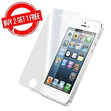 iPhone 5 5S SE 5C High Quality Clear Tempered Glass Screen Protector