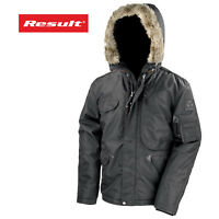 Result Men's Outdoor Coat Wind Waterproof insulated Warm Winter Outdoor Jacket