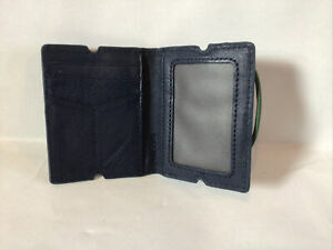 Blue Men's Leather Wallet by Fossil