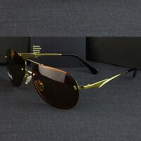 Neu Polarisiert Sonnenbrille Pilotenbrille Herren Pornobrille Brille Verspiegelt