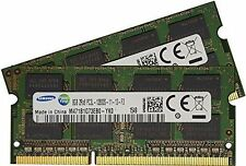 16GB (2x8GB) 1600MHz DDR3 DDR3L PC3-12800 204 PIN SO-DIMM Memory(RAM)