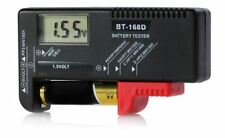 BT-168D Digital LCD Display Battery Capacity Checker Tester Meter