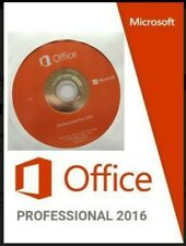 Microsoft Office 2016 Professional Pro 32/64 Bit 3 PC INSTALL - FULL DVD VERSIO
