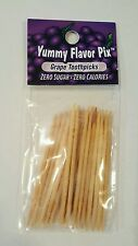 Flavored Toothpicks by Yummy Flavored Pix-GRAPE