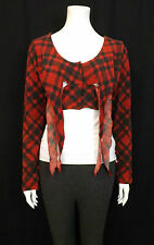 HEART HE008-KNR CYPRESS TOP RED - BLACK   SIZE SMALL