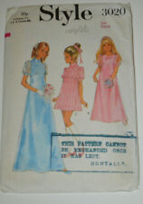 sewing pattern dress bridesmaid wedding party confirmation