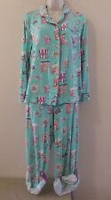 Munki Munki 2pc Pajamas PJ's GOING TO THE MOVIES w/Popcorn & Tickets Sz Small