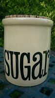 Vintage Retro 1970's T G Green Large Sugar Storage Jar Granville/Spectrum VGC