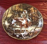 THE NOBLE QUEST PLATE FOOTSTEPS OF THE BRAVE 1ST COA