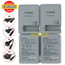 Used Original Canon CB-2LBE Charger for PowerShot 510 530 N2 IXUS 1100 500 NB-9L