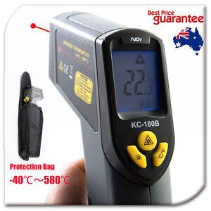 -40~580 Celsius Infrared IR Thermometer Temperature Laser Gun Meter + Bag 180B