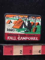 Vtg 1980 Middle Tennessee Council Patch Boy Scouts C74I