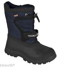 Trespass Kids Boys Girls Kukun Waterproof Winter Lined Snow BOOTS Thermal Size 3