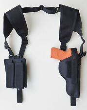 "Shoulder Holster for DESERT EAGLE MRI 1911G with Double Magazine Pouch 5"" BARREL"