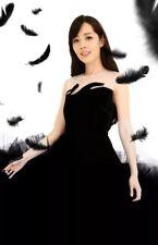 Awaylee designer black velvet dress