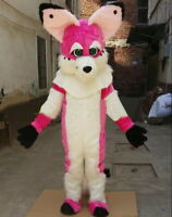 Halloween Fox Dog Mascot Costume Fursuit Cosplay Party Dress Clothing Adult