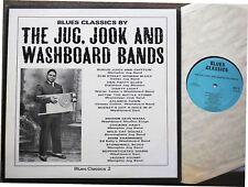 BLUES LP: THE JUG, JOOK AND WASHBOARD BANDS Memphis & Dallas Jug Bands et al