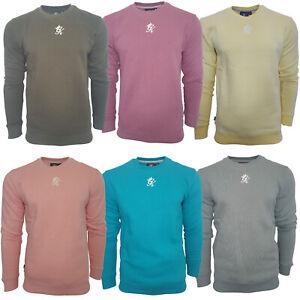 Gym King Mens Fleece Crew Neck Fashion Casual Designer Sweatshirt Sweater Jumper