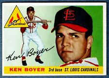 Ken Boyer RC Rookie St Louis Cardinals Card #125 NEAR MINT