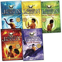 Percy Jackson Book Collection - 5 Books (Book Collection), Children's Books, New