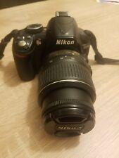 Nikon D D3100 14.2MP Fotocamera Reflex Digitale-Nero (Kit con Obiettivo 18-55mm VR)