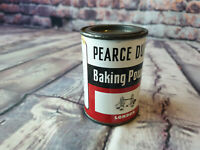 VINTAGE ENGLISH - PEARCE DUFF'S BAKING POWDER - LONDON 8 OZ - TIN CAN/CONTAINER