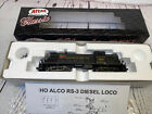 Atlas Classic 8480 HO Scale Western Maryland Alco RS-3 Diesel Locomotive #189