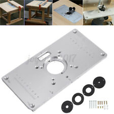 234X120X9mm Router Piastra Inserto Alluminio Per Fresa da Banco Fresatrice