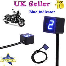 Long Life Blue LED Digital Gear Indicator Motorcycle Display Shift Lever Sensor