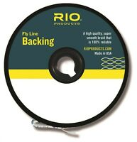 RIO Dacron Fly Line Backing, 20lb / 200 yards, Color Chartreuse...New!
