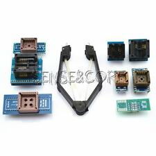 Programmer Adapters 8 Socket Kits for TL866A/ EZP2010 with IC Extractor