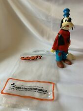 Walt Disney Vintage Goofy Toy Figure Retro Buena Vista Collectors New Old Stock
