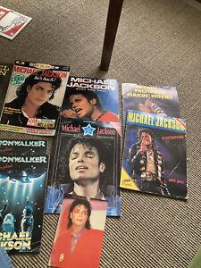 Joblot Michael Jackson Magazines And Books